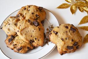cookies cioccolato senza uova e burro